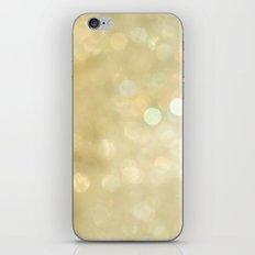 Bokeh Series - Gold Dust iPhone & iPod Skin