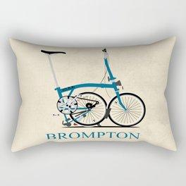 Brompton Bike Rectangular Pillow