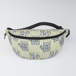 Japanese Cats Fanny Pack