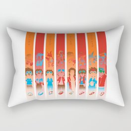 Digidestined protagonists Rectangular Pillow