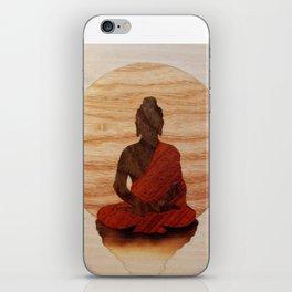 Buddha marquetry iPhone Skin