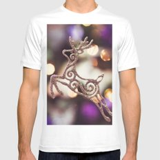 Some magic MEDIUM White Mens Fitted Tee