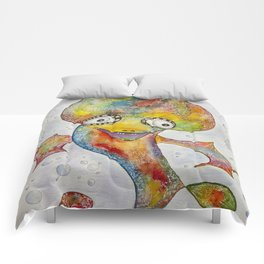 Colourful Online Water Monster Comforters