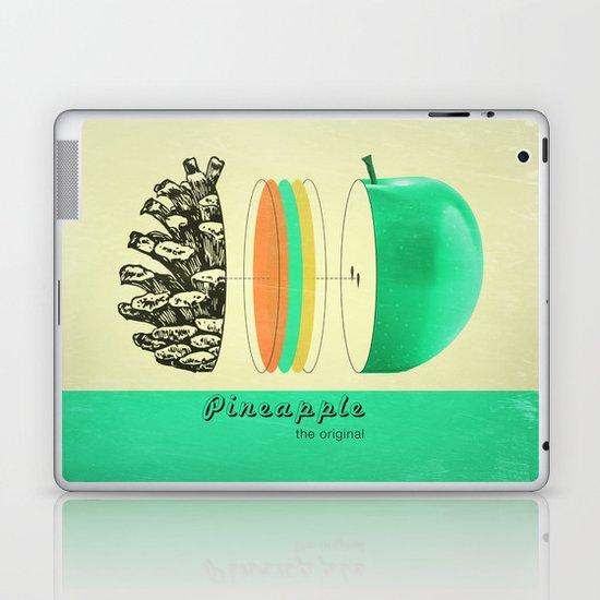 pineapple, the original Laptop & iPad Skin