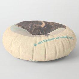 An old Resident of Buffalo, New York Floor Pillow