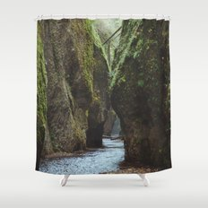 Oneonta Gorge Shower Curtain