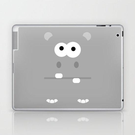 Minimal Hippo Laptop & iPad Skin