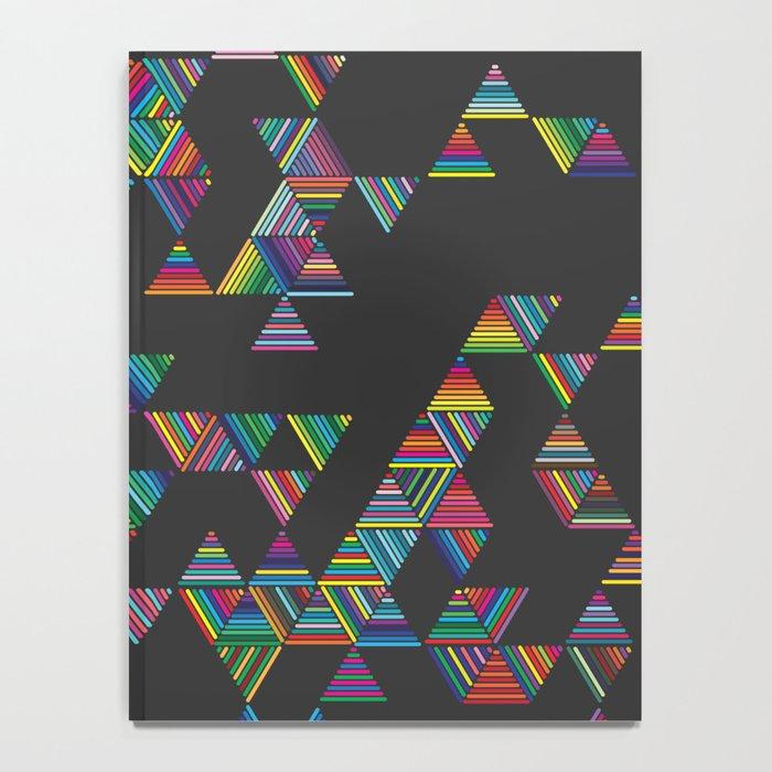 Rainbow Night Rain Notebook