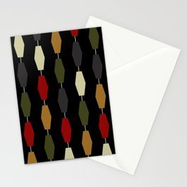 Colima - Black Stationery Cards