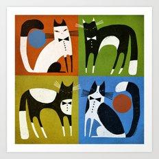 TUXEDOS Art Print