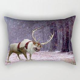 Reindeer Are Better Than People Rectangular Pillow