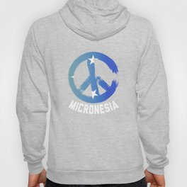 Micronesia Peace Sign T Shirt Hoody