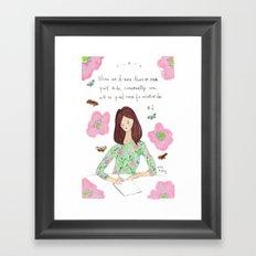 Do More - Zig Wisdom Inspiration Print #1 Framed Art Print
