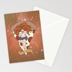 Pizza Goddess Stationery Cards