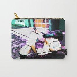 Urban Landscape - Vintage Vespa Carry-All Pouch
