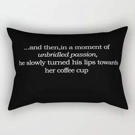 Unbridled Passion- Hers Rectangular Pillow