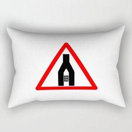 Beer Time Sign Rectangular Pillow