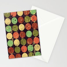 Circles 2 Stationery Cards