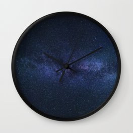night_sky_stars Wall Clock