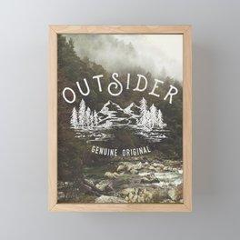 Outsider Framed Mini Art Print
