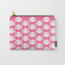 Mei the Strawberry Rabbit Carry-All Pouch