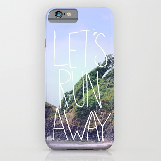 Let's Run Away: Cannon Beach, Oregon iPhone & iPod Case