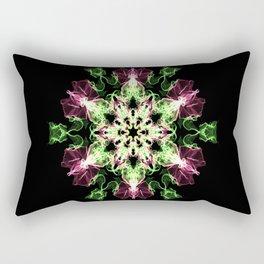 Watermelon Snowflake Rectangular Pillow