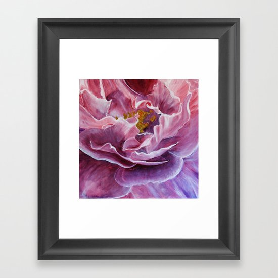 This rose Framed Art Print