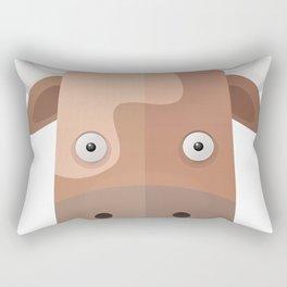The Cow of Videos Manguis Rectangular Pillow