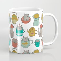 Pattern Project #5 / Cats and Pots Mug