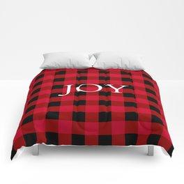 Joy Red Buffalo Check Comforters