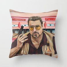 Walter / The Big Lebowski / John Goodman Throw Pillow