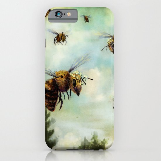 Crown of Bees iPhone & iPod Case