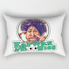 Earwax And Boogies Rectangular Pillow