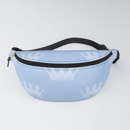 Louis Blue Crowns- Prince of Cambridge Fanny Pack