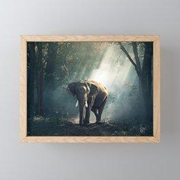 Spirit of the forest Framed Mini Art Print
