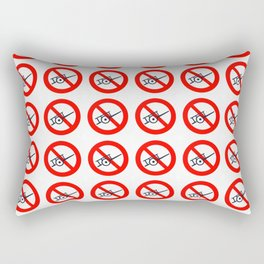 No Carts, Sometimes Rectangular Pillow