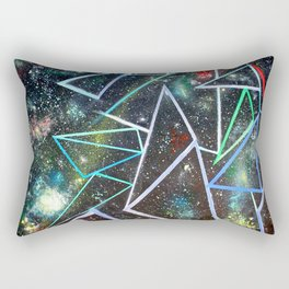 My Father's Star Charts Rectangular Pillow