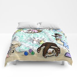 Unmaking the Bed Comforters
