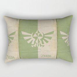 Legend of Zelda: Triforce Rectangular Pillow