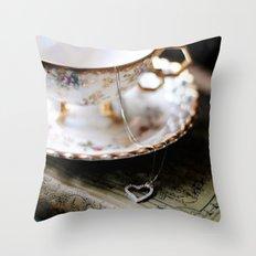 my little valentine Throw Pillow