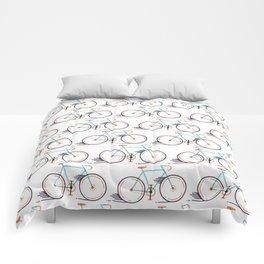 speed bike Comforters
