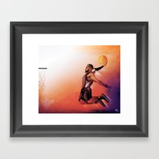 When Kings Fly Framed Art Print