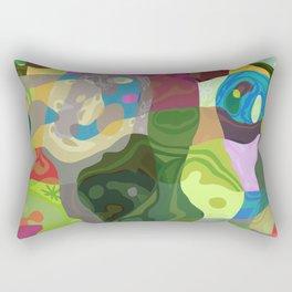 Patchwork Quilt Rectangular Pillow