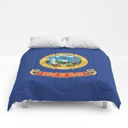 Idaho State Flag Comforters