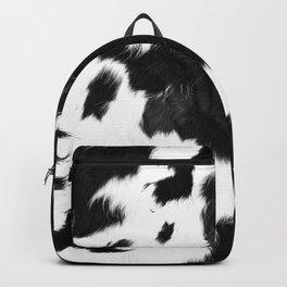 Rustic Cowhide Backpack