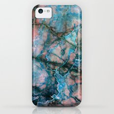Pink and Blue Marble Slim Case iPhone 5c