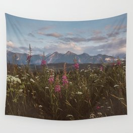 Mountain vibes - Landscape and Nature Photography Wall Tapestry