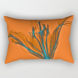 X-rayed Lilyblossom No. 2 Rectangular Pillow