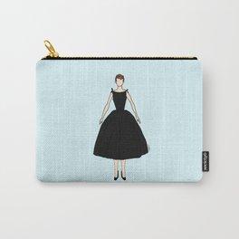 Audrey Hepburn Vintage Retro Fashion 1 Carry-All Pouch